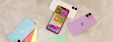 Un 'render' explora los colores del iPhone 12 de 5,4 pulgadas que esperamos en septiembre