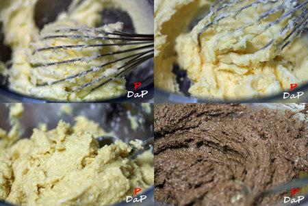 Hacer cake de soja marmolado