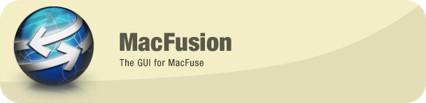 MacFusion, una interfaz gráfica para MacFUSE