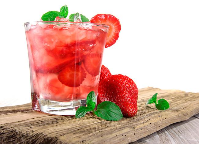 Agua Fresas