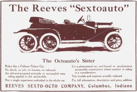 1912 Reeves Sextoauto