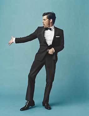 James Marsden en GQ, estilo Sinatra