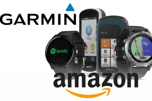 Ofertas en relojes y GPS deportivos Garmin en Amazon