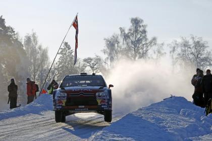 Sébastien Loeb es el más rápido del Shakedown noruego