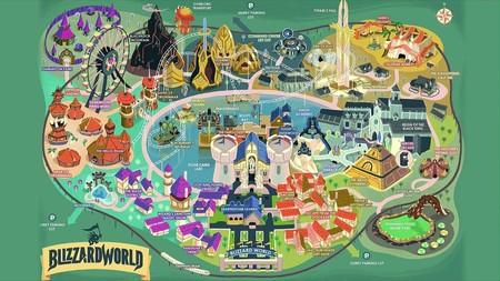 El nuevo mapa de Overwatch, Blizzard World, estará disponible la próxima semana
