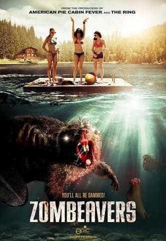 'Zombeavers', tráiler y cartel de la loca película sobre castores zombis