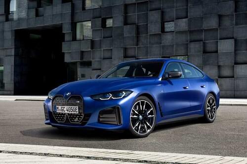 BMW i4, el nuevo sedán eléctrico de BMW viene a hacerle frente al Tesla Model 3 con 536 hp, 480 km de autonomía y carga de 200W