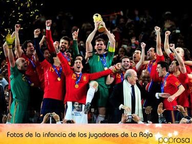 Los jugadores de La Roja: Fotos de la infancia