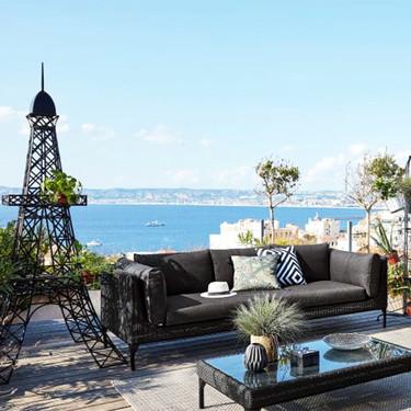 Descubre las mejores ideas del momento para tener un salón de exteriores en la terraza o el jardín