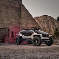 Un coche eléctrico, autónomo y con drones en vez de faros: así es el todoterreno distópico de Audi