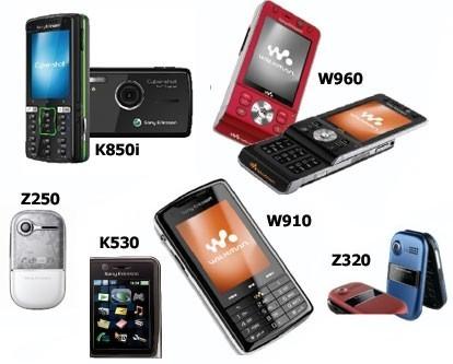 Los móviles que presenta hoy Sony Ericsson