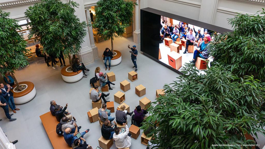 La Apple™ Store de Amsterdam debuta su mas nuevo rediseño: así luce ahora