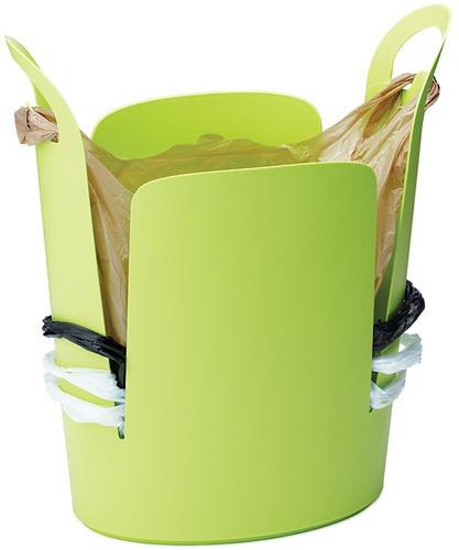 Cubo de basura Urbano, por fín sabrás donde guardar las bolsas del super