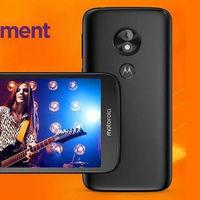Moto E5 Play Android Oreo Go Edition es una versión re-recortada del móvil más barato de Motorola
