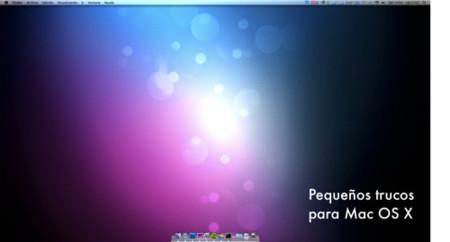 Pequeños trucos para Mac OS X que debe saber un switcher