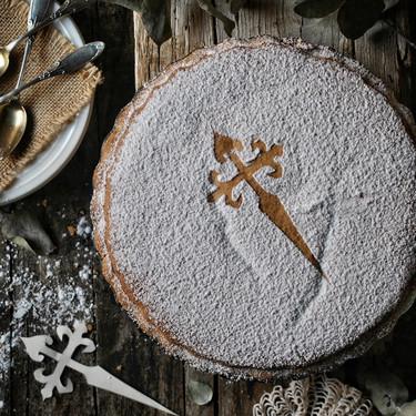 La receta de la tarta de Santiago que me enseñaron en la Escuela de Hostelería