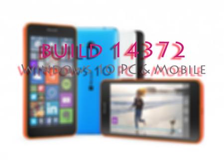 La Build 14372 de Windows 10 para PC y móviles llega al anillo rápido