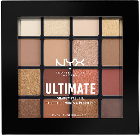 Nyx Professional Makeup Ultimate Shadow Palette Warm Neutral 1859 241 0002 1