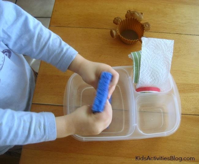 taller agua juegos niños