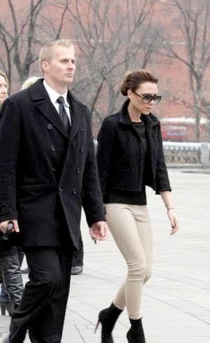 Los looks de Victoria Beckham en Rusia