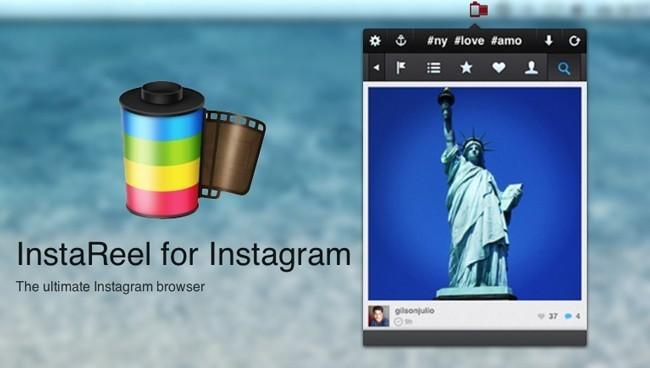 InstaReel, un cliente de Instagram para OS X