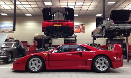 Así se vive la experiencia de comprar un Ferrari F40