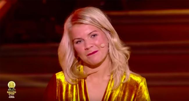 Ada Hegerberg gana el balón de oro y le preguntan si haría twerking: su cara es un poema y todas nos hemos sentido así alguna vez