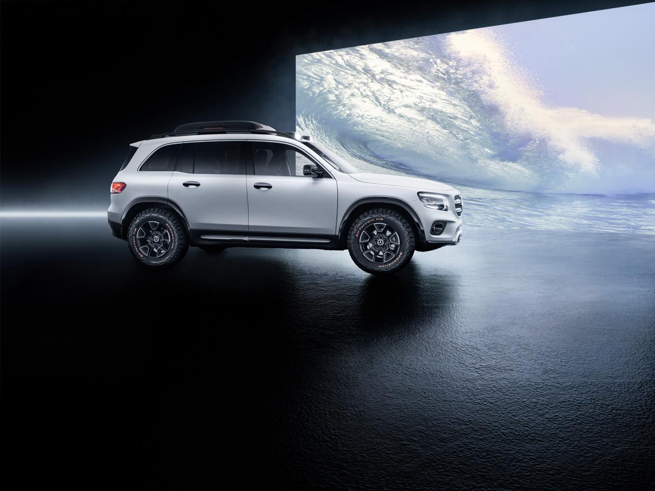 Foto de Mercedes-Benz GLB Concept (1/26)