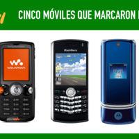 Cinco móviles que marcaron el año 2006