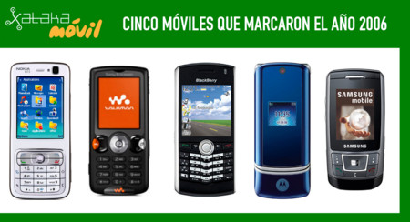 Cinco Moviles Que Marcaron El Ano 2006