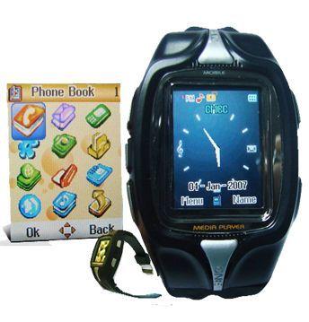 [CES 2008] Turtle TWP-800, un móvil en la muñeca