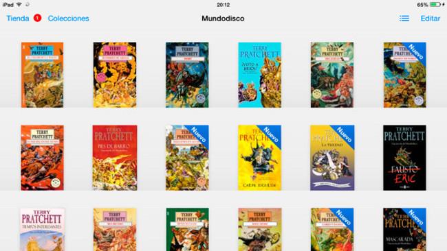 iBooks e iTunes U se actualizan al nuevo diseño de iOS 7