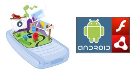 Android integrará Flash en su versión 2.2 mientras Facebook considera usar HTML5