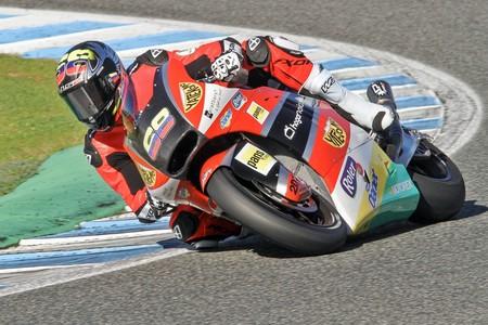 Yonny Hernandez Test Moto2 Jerez
