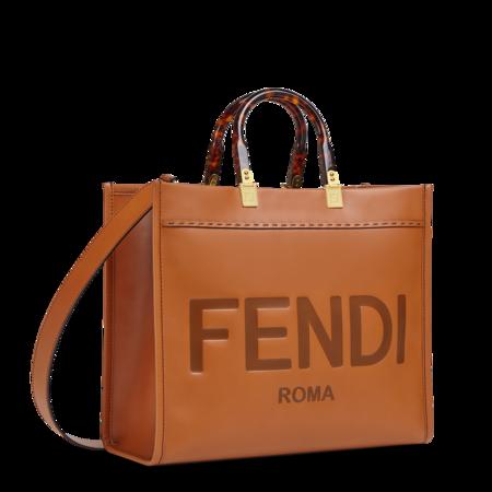 Fendi Sunshine Shopper Medium Brown 02