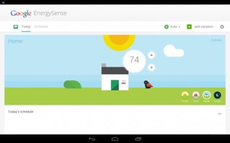 EnergySense, la aplicación de Google para controlar termostatos a través de internet
