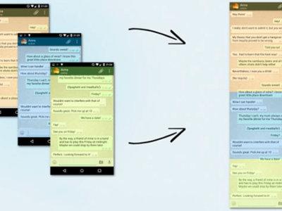 Guarda capturas de pantalla con scroll en iOS y Android con estas apps