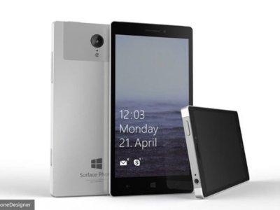 Una patente apunta a un Surface Phone con lector de huella dactilar en la misma pantalla
