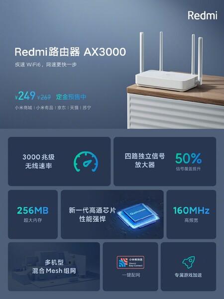 Redmi AX3000