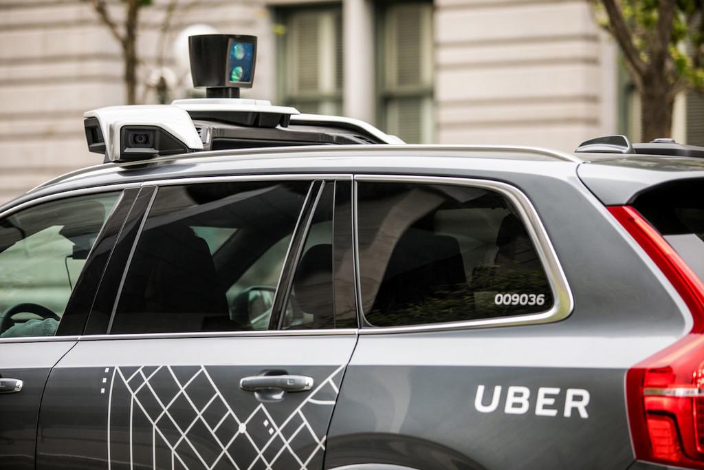 El sistema de conducción autónoma de Uber dice ser capaz de predecir la trayectoria de peatones, ciclistas o coches