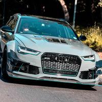 Cómo hacerle un traje al Audi RS 6 Avant performance y pasarse con los anabolizantes