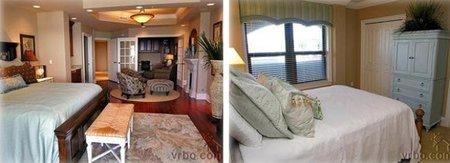 Dos dormitorios de Miley Cyrus