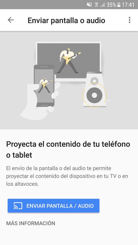 Enviar Pantalla O Audio De Movil O Tableta