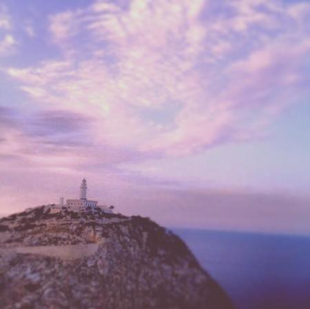 Faro de Formentor desde la carretera