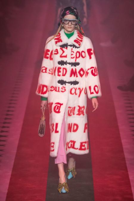 Gucci Primavera-Verano 2017: Alessandro Michele en estado puro