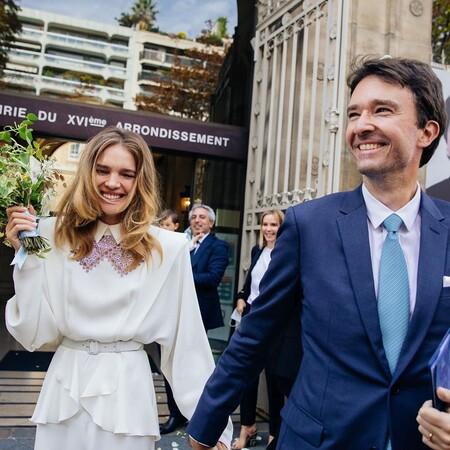 Boda sorpresa de Natalia Vodianova y Antoine Arnault: así fue el vestido de novia de la supermodelo