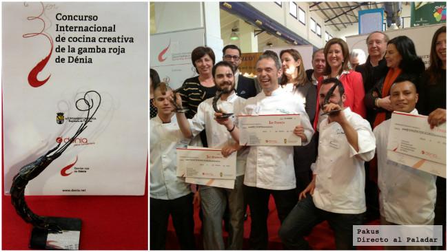 El III Concurso Internacional de cocina Creativa de la Gamba Roja ...