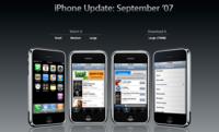 Actualización del firmware del iPhone e iPod touch a 1.1.1
