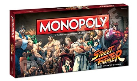 Capcom Anuncia Monopoly Street Fighter Collector S Edition Si El