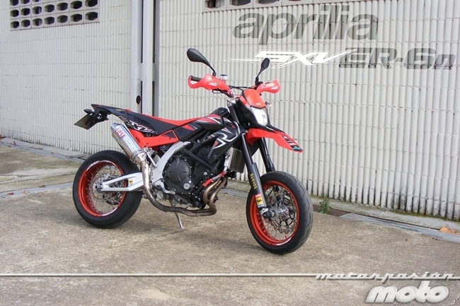 Aprilia SXV ER6